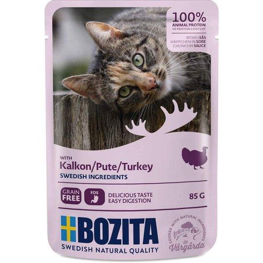 Bozita Feline Bitar i Sås med Kalkon