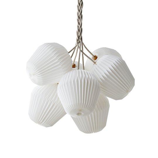 LE KLINT The Bouquet -riippuvalo, 7-lamp. Ø85cm