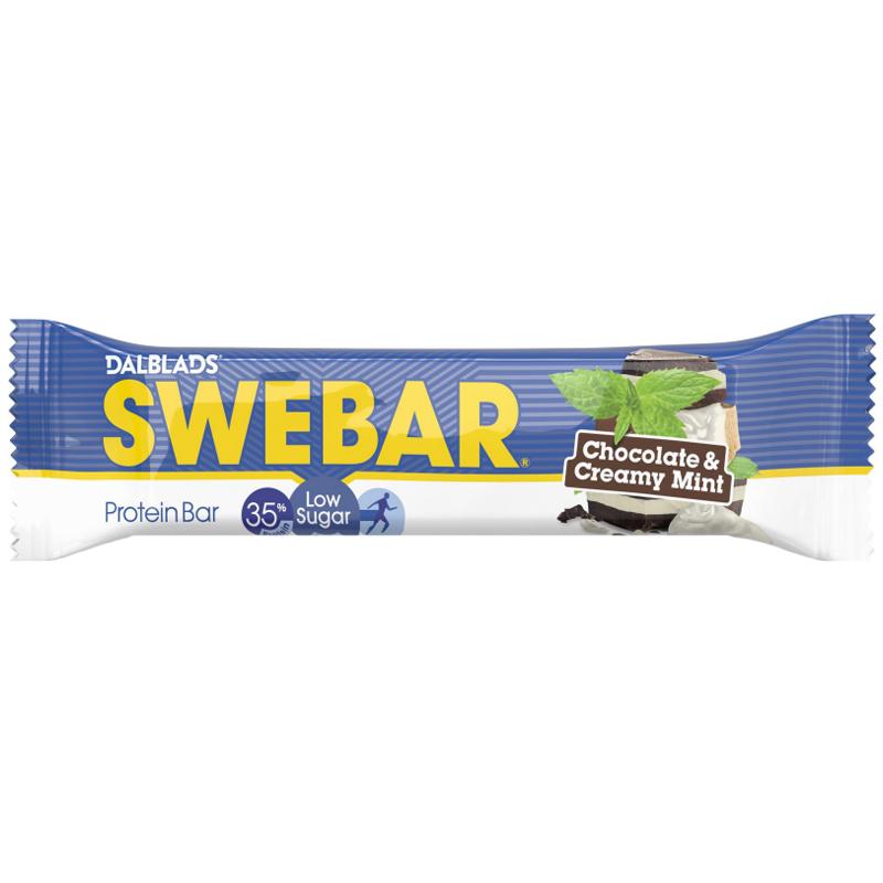 "Proteinbar ""Chocolate & Creamy Mint"" 50g - 33% rabatt"
