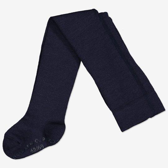 Merinoull strømpebukse med sklisikring baby mørkblå