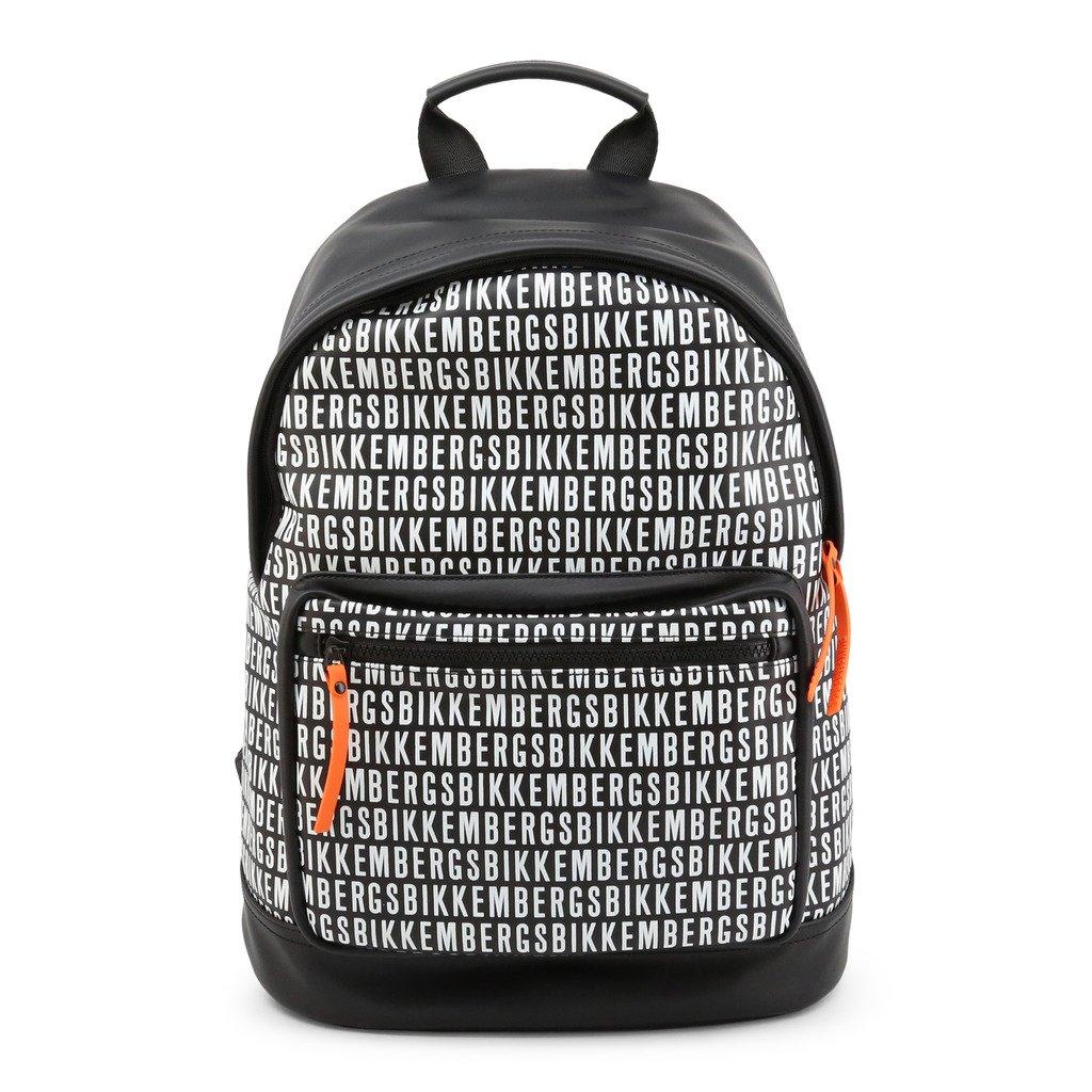 Bikkembergs Men's Backpack Black E2APME810075 - black NOSIZE