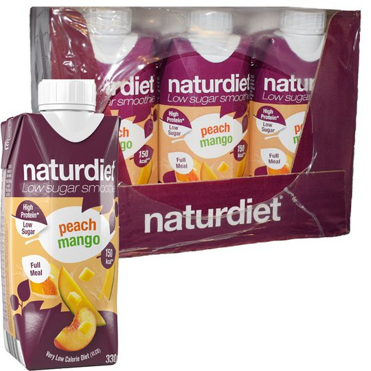 Måltidsersättning Smoothie Peach & Mango 12-pack - 26% rabatt