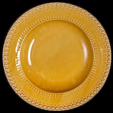 DAISY Dyp Tallerken/Pastaskål Gul 35 cm