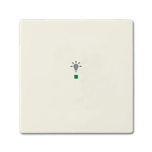 ABB Future Linear 6220-0-0585 Yksiosainen vipupainike Chalet-white