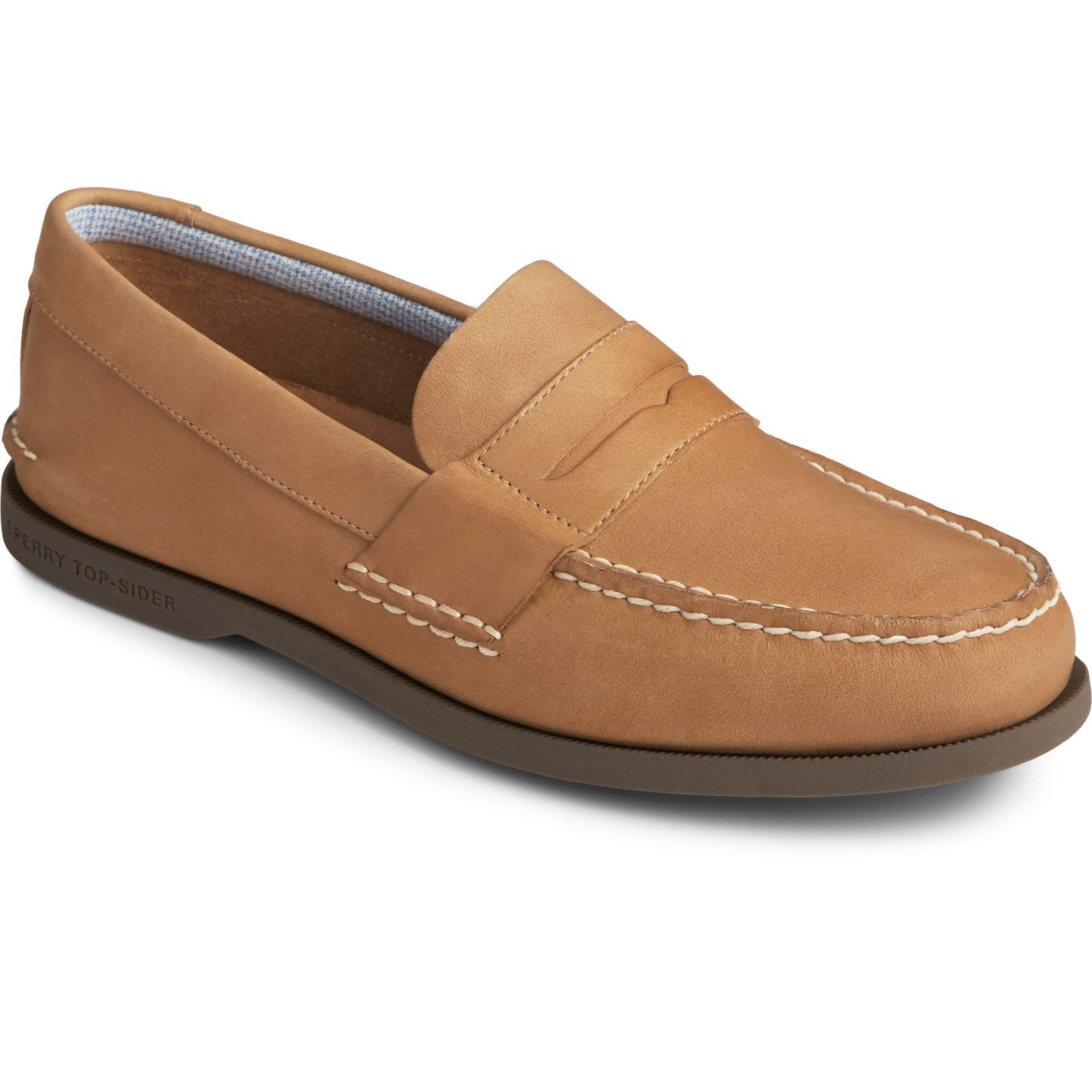 Sperry Men's Authentic Original Penny Loafer Various Colours 31733 - Sahara 10