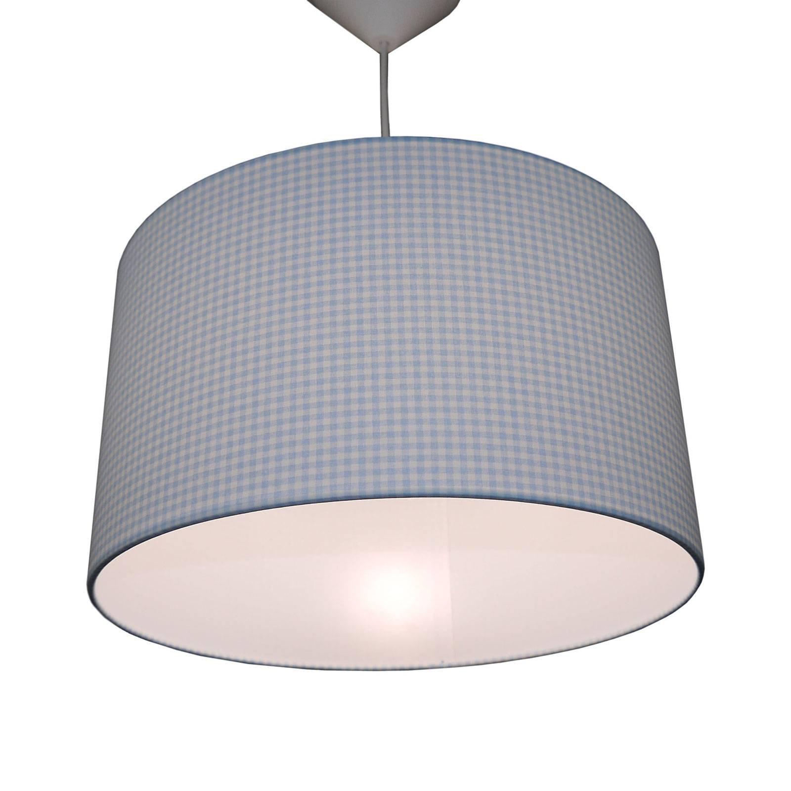 Henlgelampe Vichykaro, lyseblå