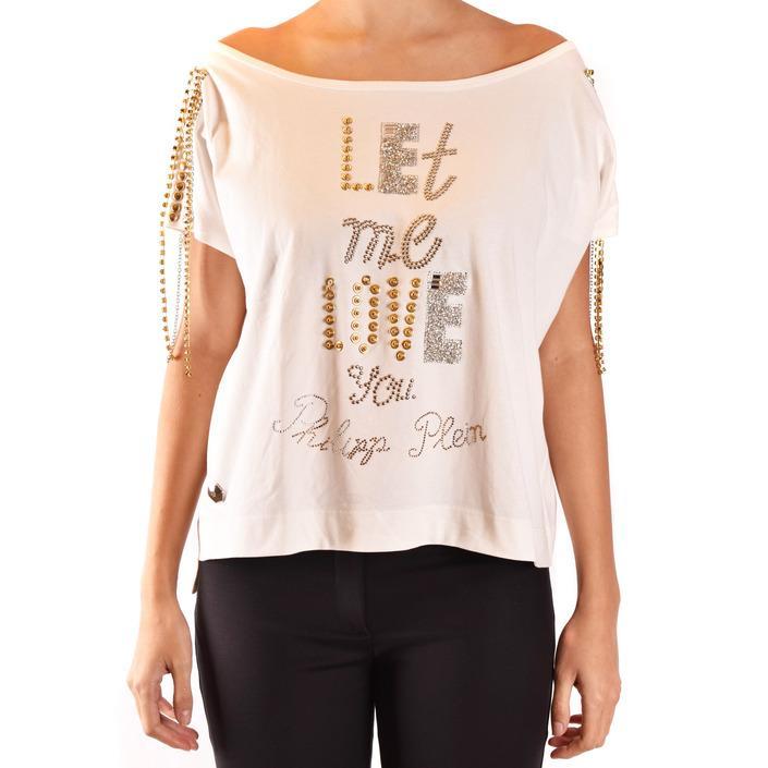 Philipp Plein Women's T-Shirt White 184823 - white S