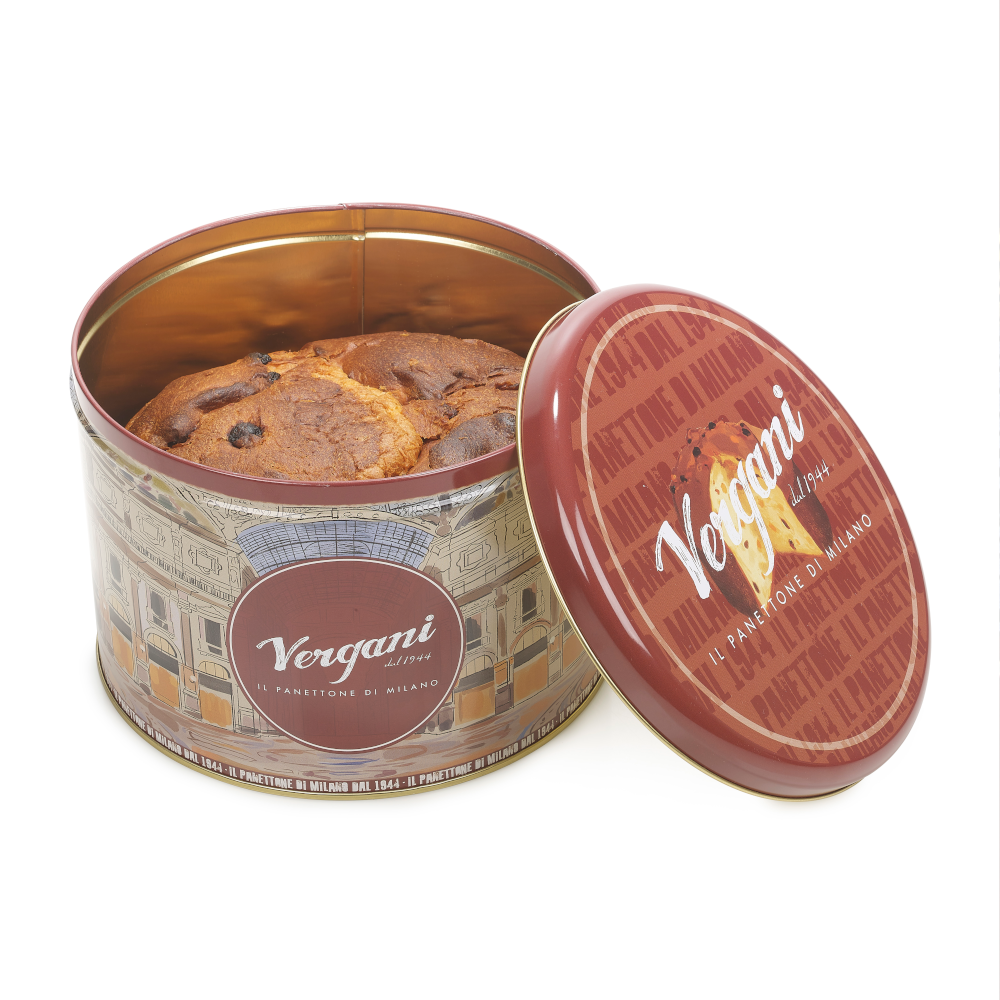 Traditional Milanese Panettone by Vergani 750g