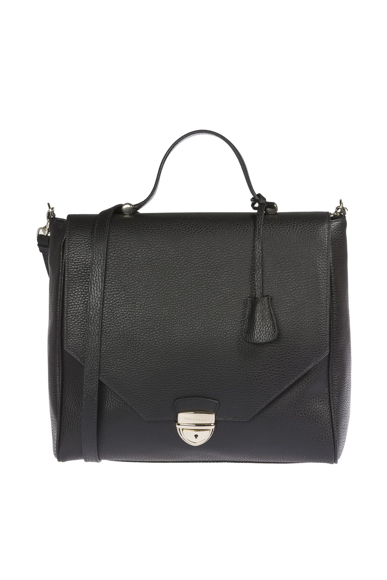 Trussardi Women's Handbag Black 1DB338_19Black