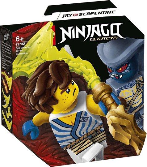 LEGO Ninjago 71732 Episk stridssett – Jay Mot Serpentiner