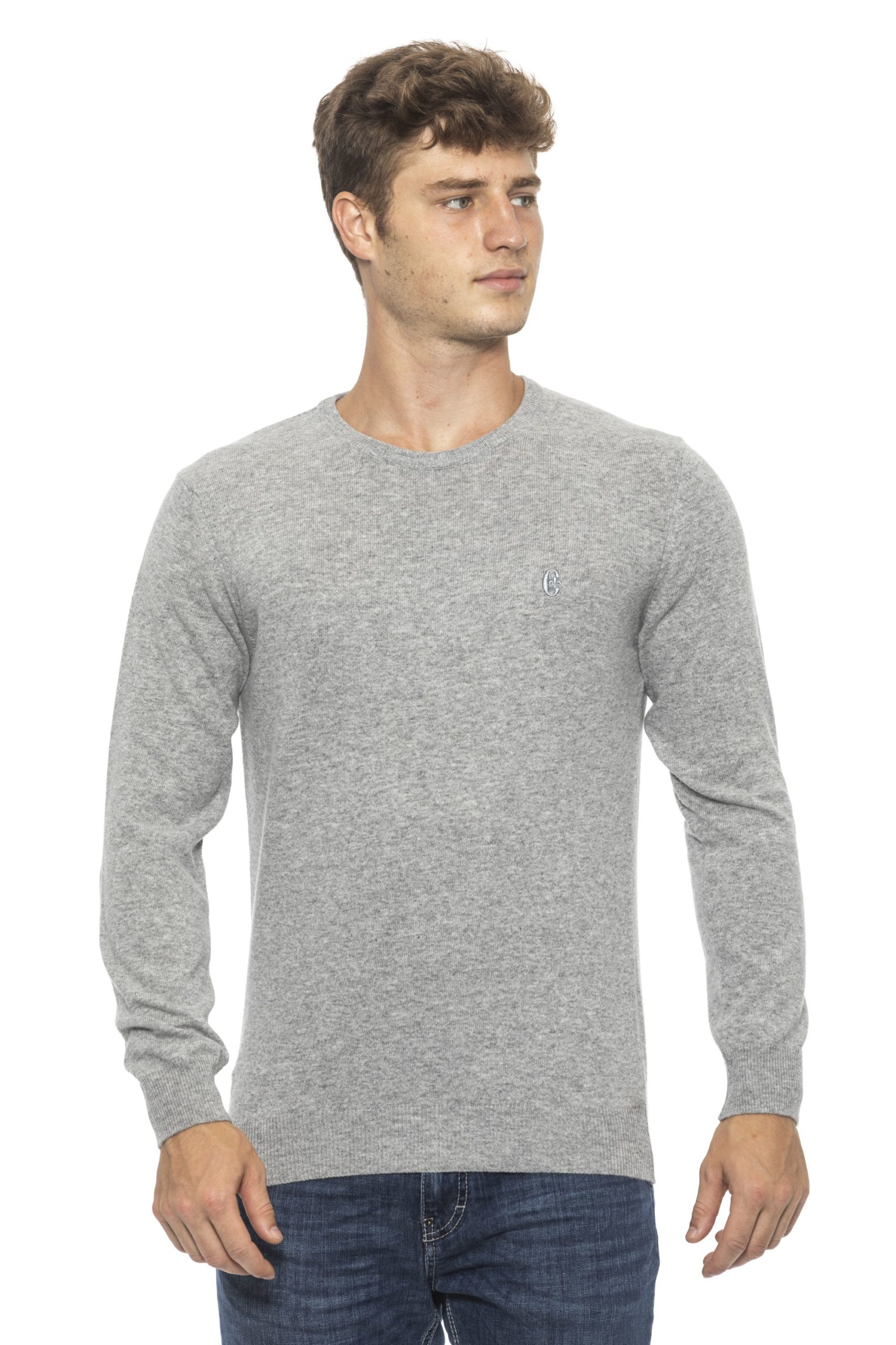Conte of Florence Men's Sweater Silver CO1272733 - M
