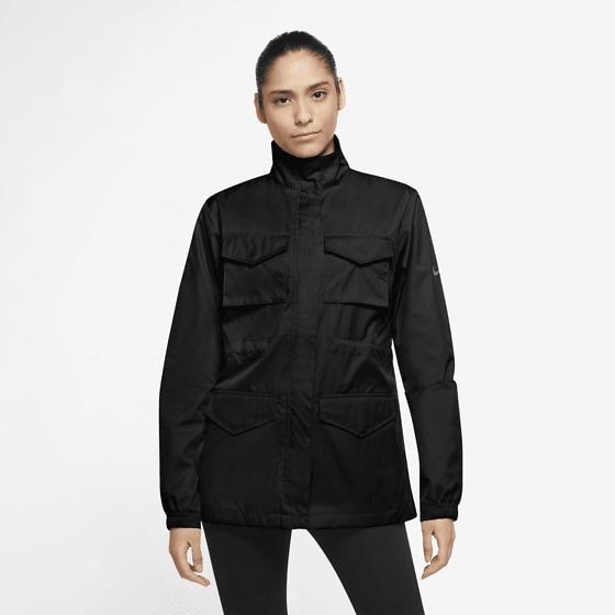 Nike W Nsw Clctn Ess M65 Wvn Jackor BLACK/IRON GREY