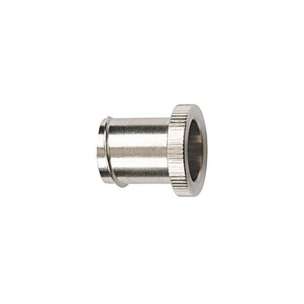 Hellermann Tyton 166-31800 Endehylse PCS-el, for stålslange Nominell Ø 10 mm, 10-pakning
