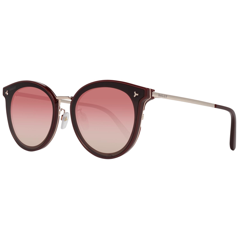 Bally Women's Sunglasses Burgundy BY0040-D 6569T