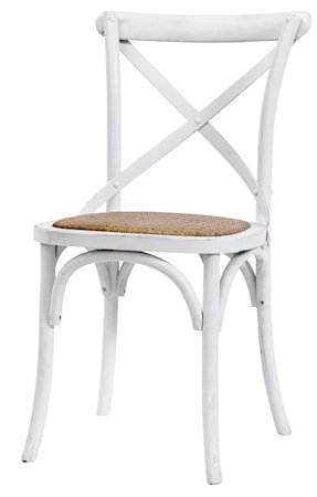 Dinner chair X - Hvit