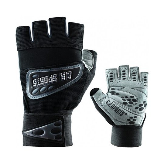 Wrist Wrap Glove, Black
