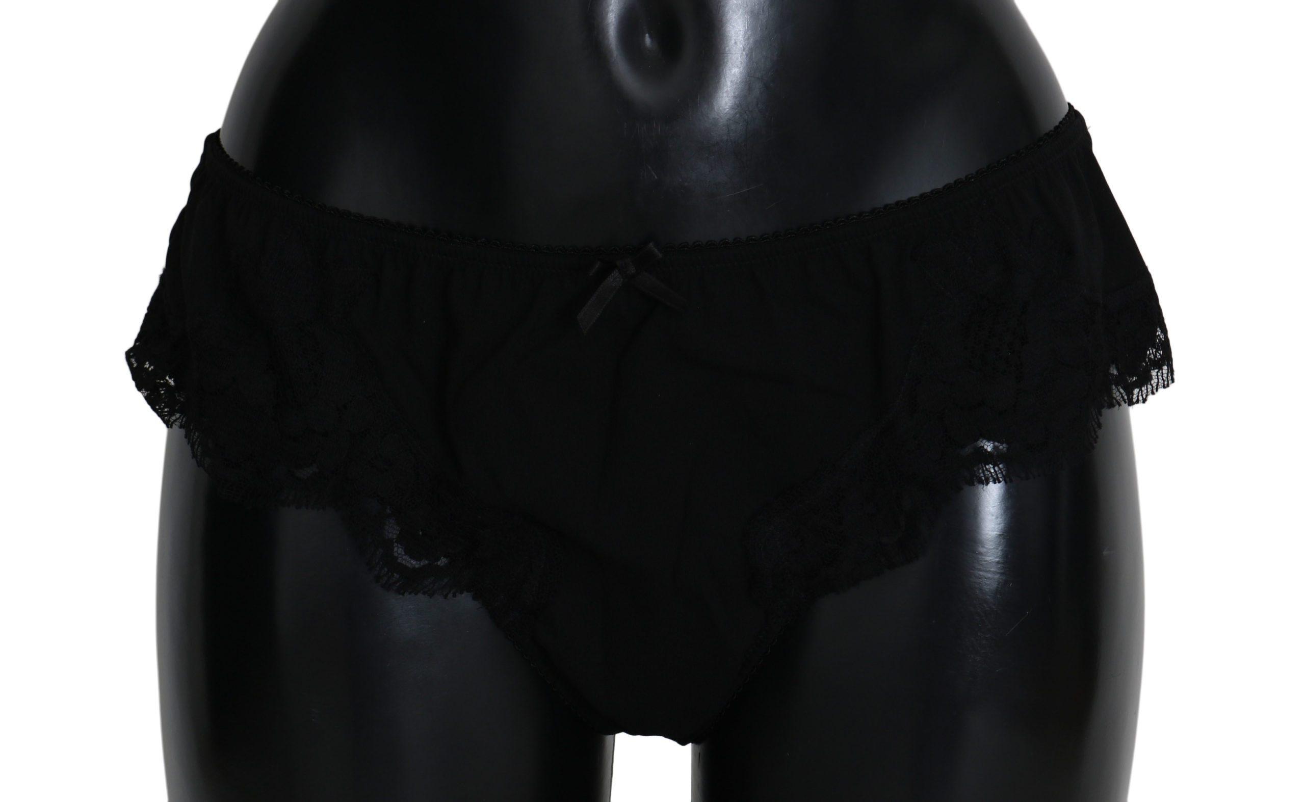 Dolce & Gabbana Women's Underwear Black BIK270 - IT4 | L