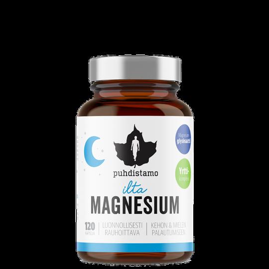 Evening Magnesium, 120 caps
