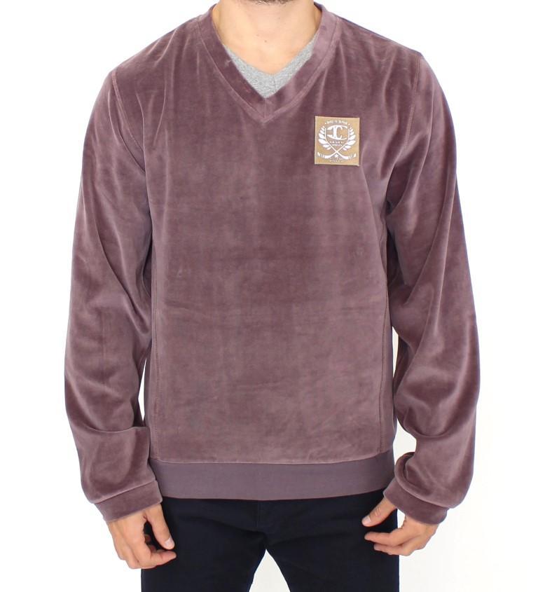 Cavalli Men's Sweater Purple SIG10006 - IT48 | M
