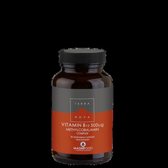 Vegan B12 500 UG Complex, 50 kaps