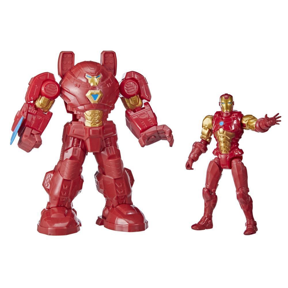 Marvel Avengers - Mech Strike 15cm - Iron Man Ultimate Mech Suit (F1668)