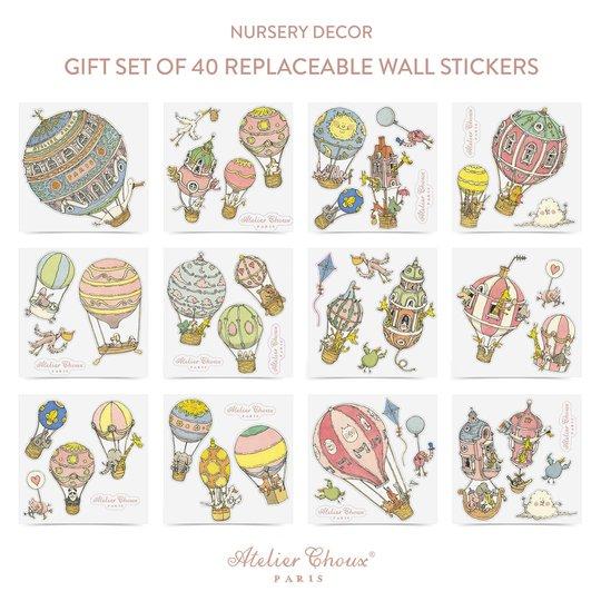 Atelier Choux Wall sticker, 40 stk