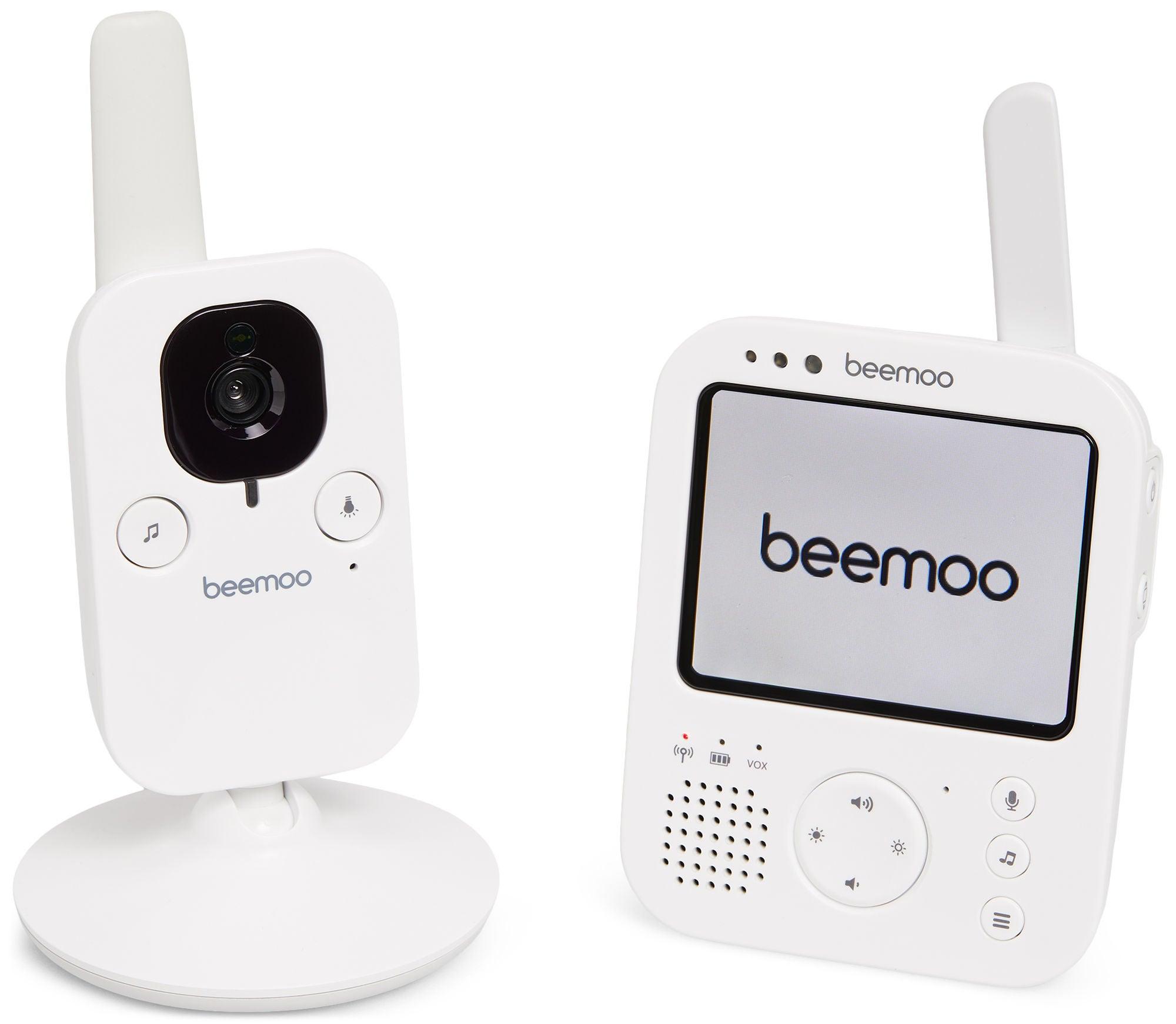 Beemoo Safe VM2610 Itkuhälytin Kameralla, Valkoinen