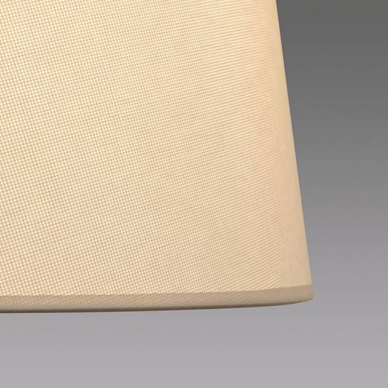 LOUM Bivio -pöytälamppu pellava harmaa