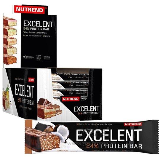 "Hel Låda Proteinbars ""Chocolate & Coconut"" 18 x 85g - 57% rabatt"