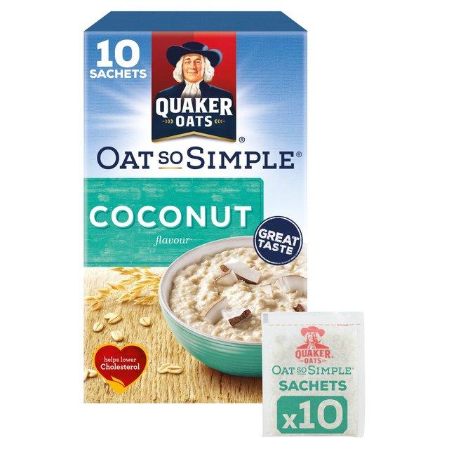 Quaker Oats So Simple Coconut Porridge 333g