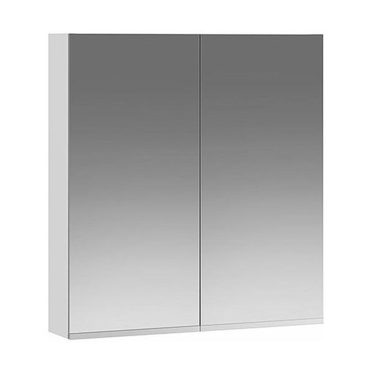 Ifö Option OSSN 60 Kylpyhuonekaappi valkoinen, peili