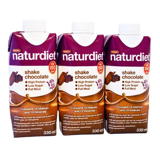 Naturdiet Shake Choklad 3-pack - 42% rabatt