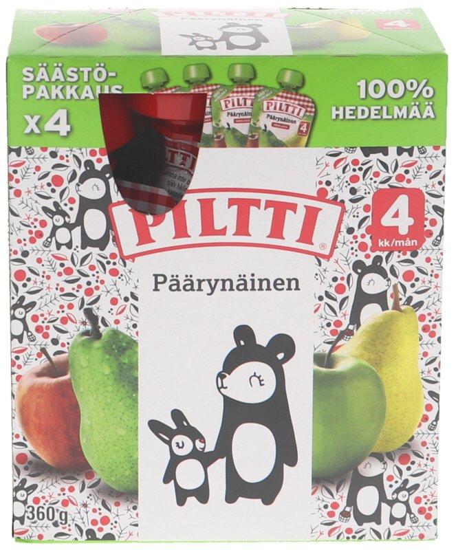 Hedelmäsose Päärynä 4kpl - 39% alennus