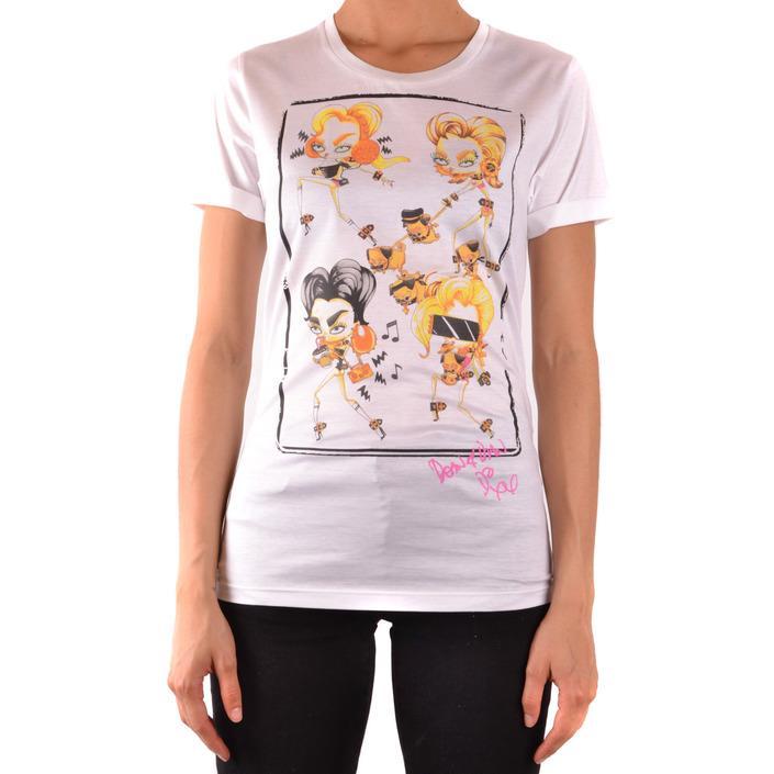 Dsquared Women's T-Shirt White 167465 - white S