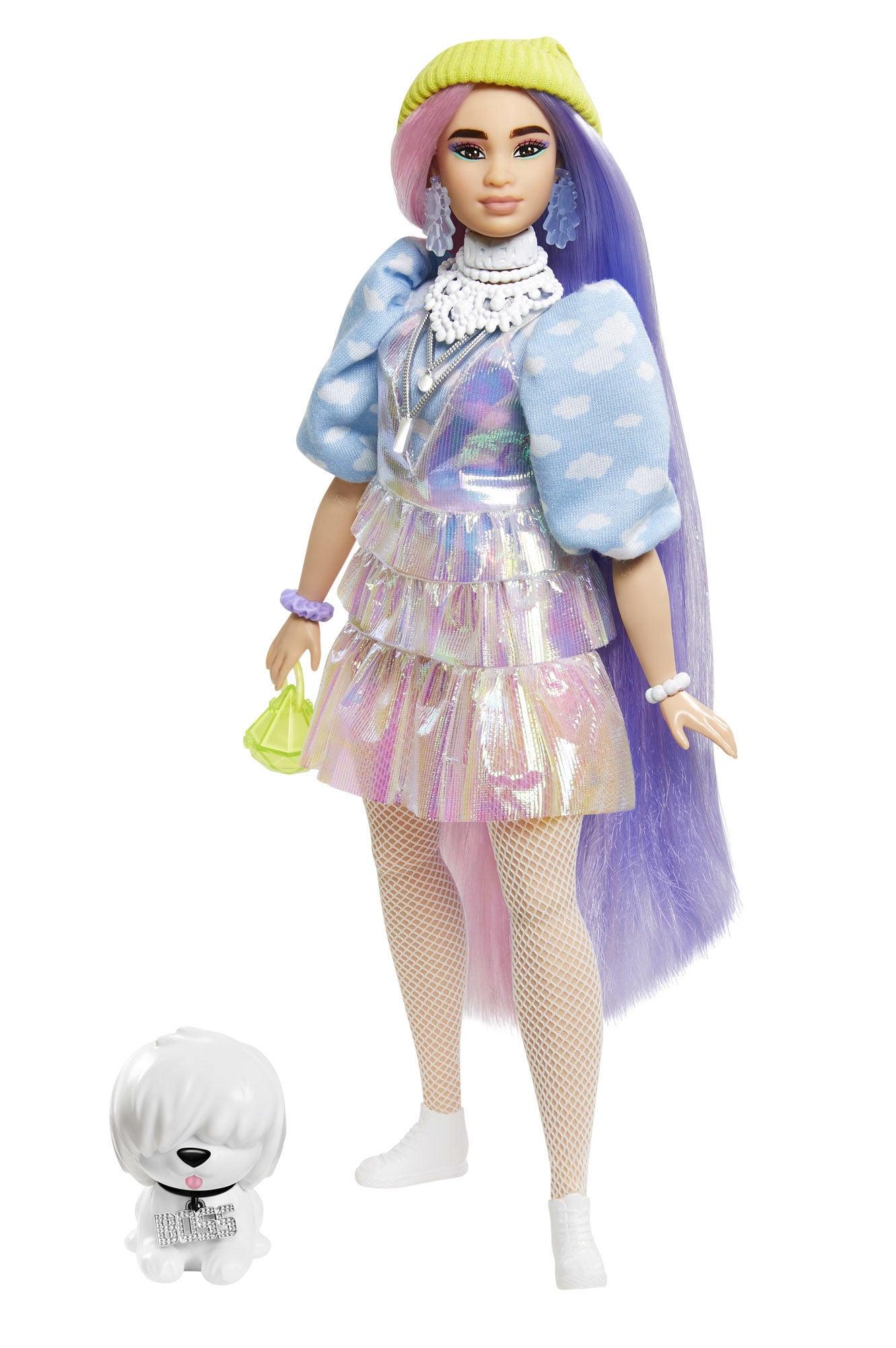 Barbie Extra Doll Beanie Docka