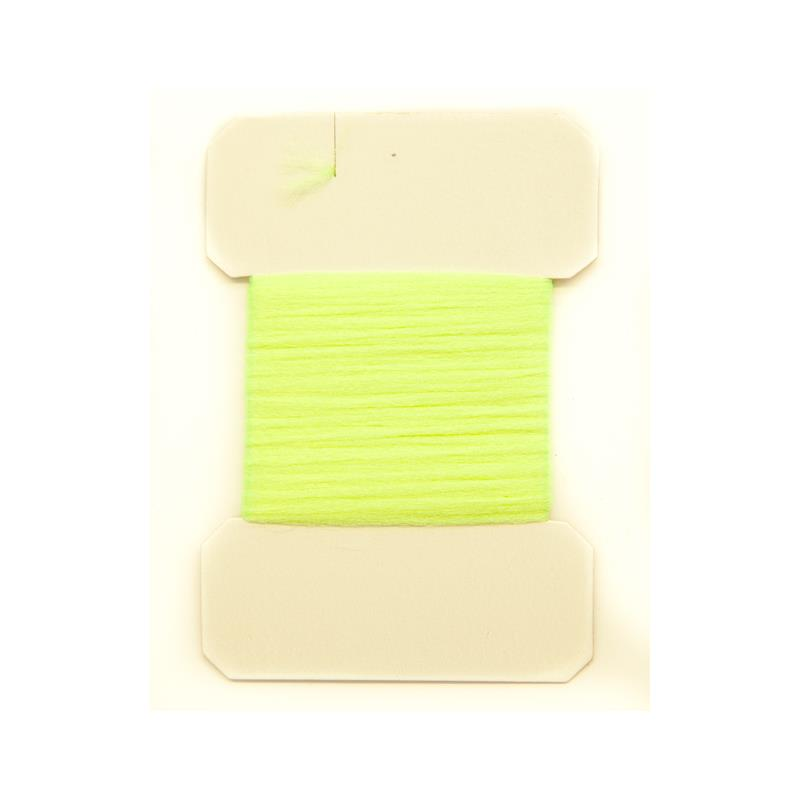 Antron Yarn Carded - Fl. Yellow