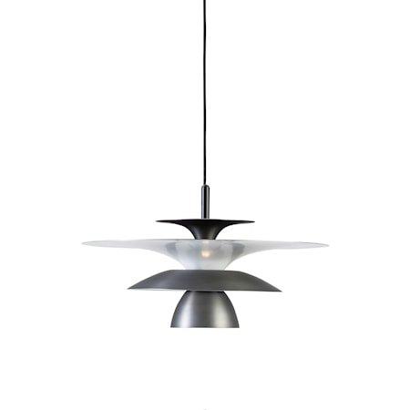 Picasso Pendel Oksidert grå LED 38 cm