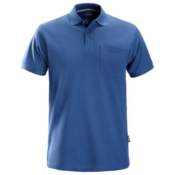 Snickers 2708 Pikéskjorte klarblå XS