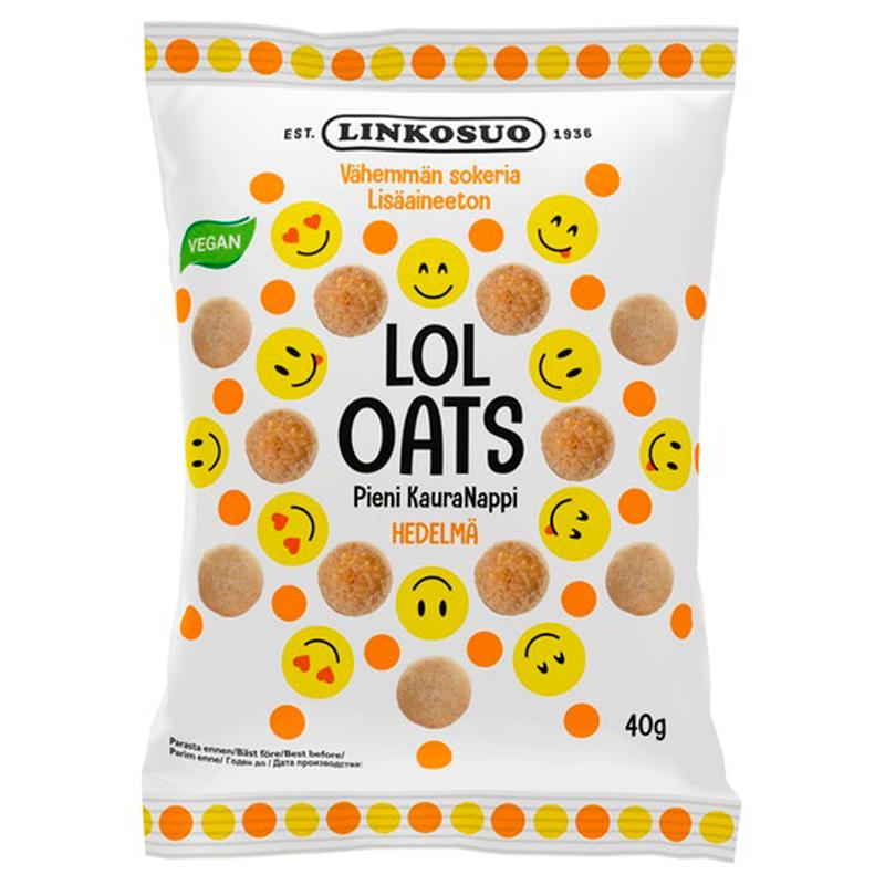 "Godis ""Lol Oats Fruit"" 40g - 22% rabatt"