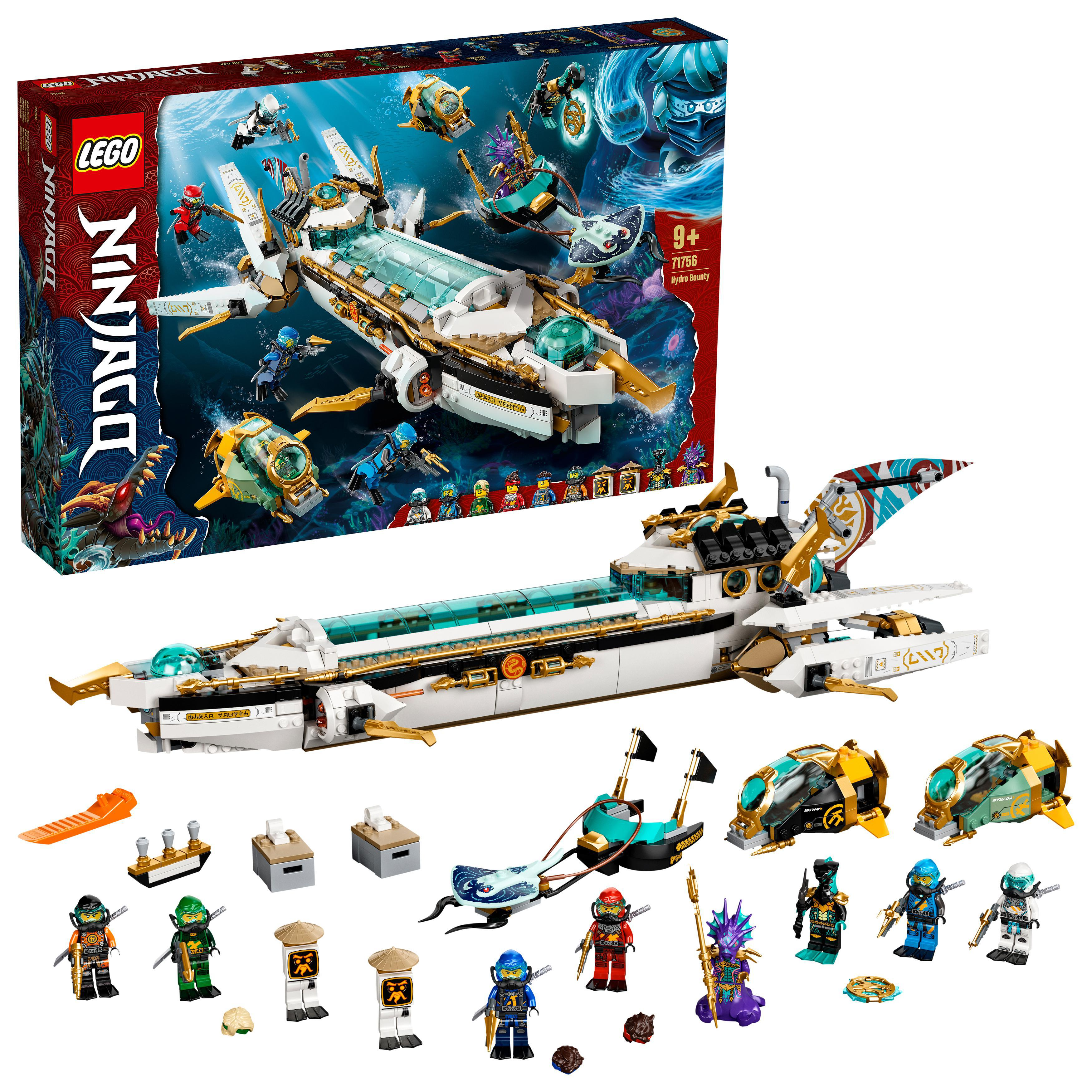 LEGO NINJAGO - Hydro Bounty (71756)