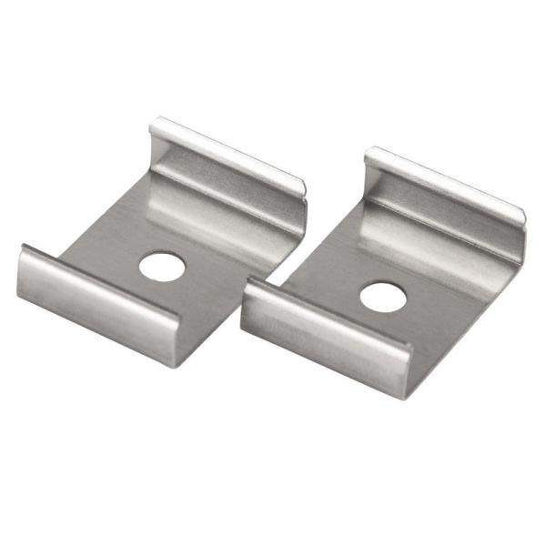 Hide-a-Lite Clips Art Kiinnitys 2 kpl Alumiini