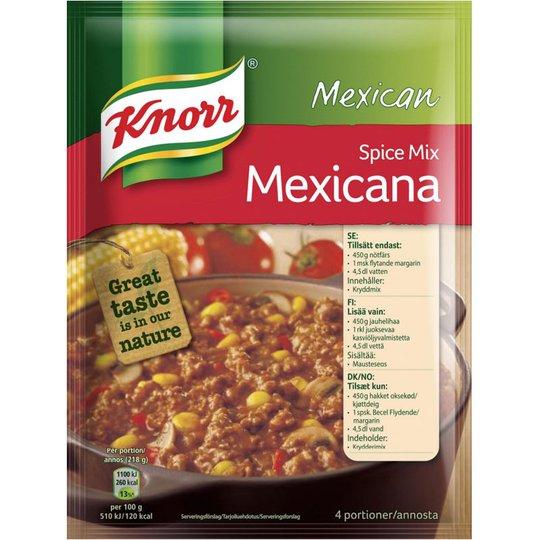 """Kryddmix """"Mexicana"""" 49g - 70% rabatt"""