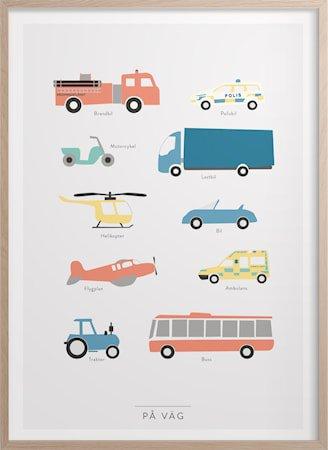 På vei Poster 50x70 cm