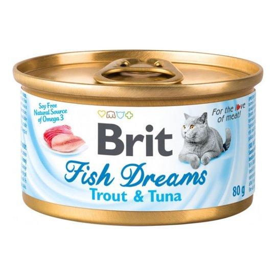 Brit Fish Dreams Öring & Tonfisk 80 g