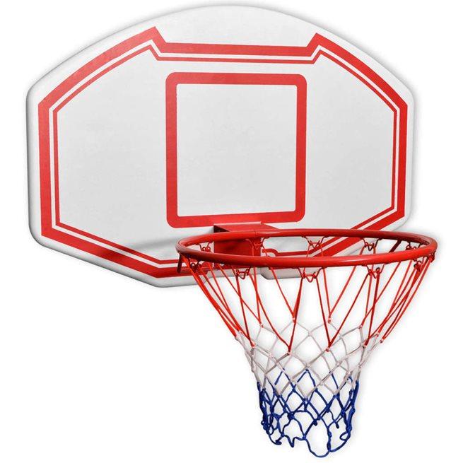 vidaXL Basketkorg 3 delar väggmonterad 90x60 cm