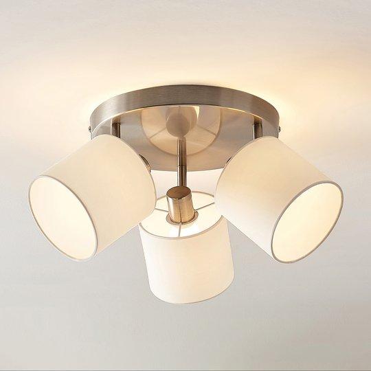 Lindby Stannis -kattovalaisin, 3-lamppuinen