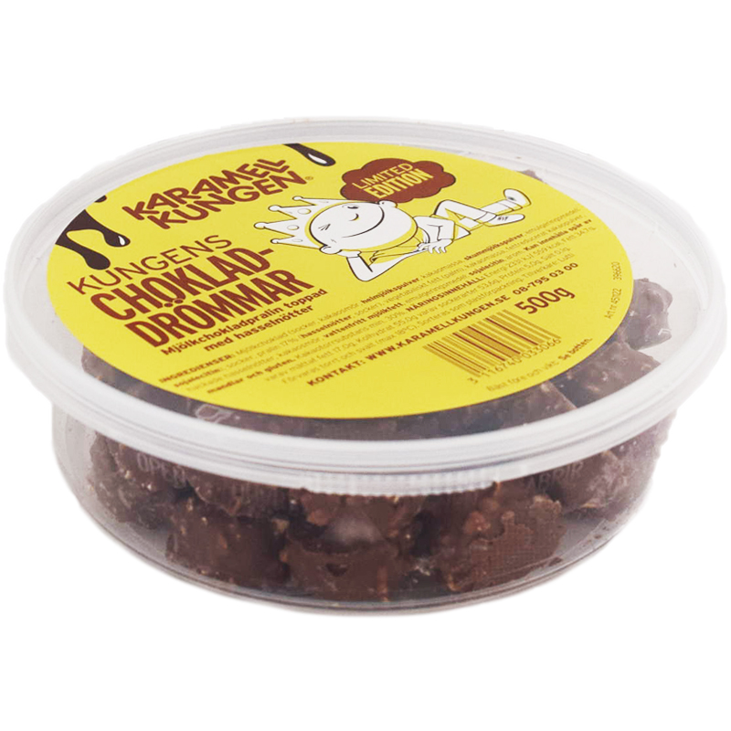 Chokladdrömmar 500g - 50% rabatt