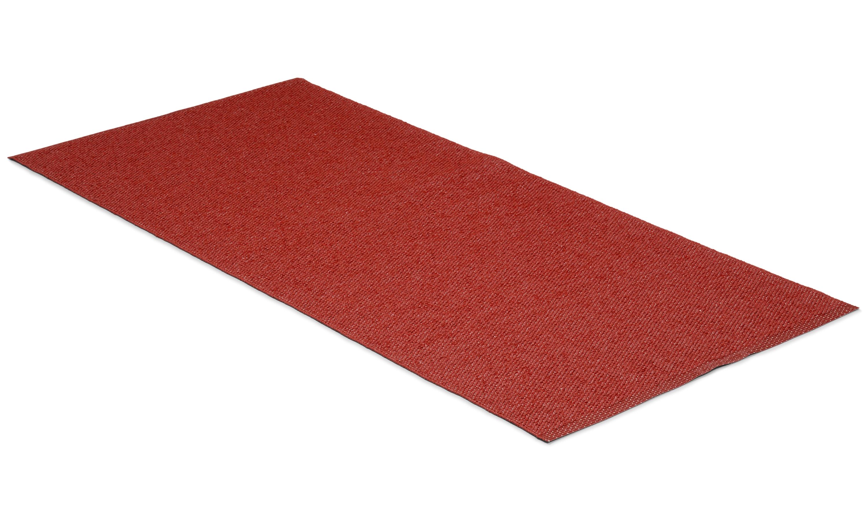 Solo rød - plastteppe
