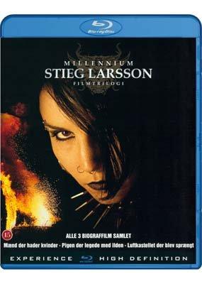 Stieg Larsson Millenium Filmtrilogi (Blu-Ray)
