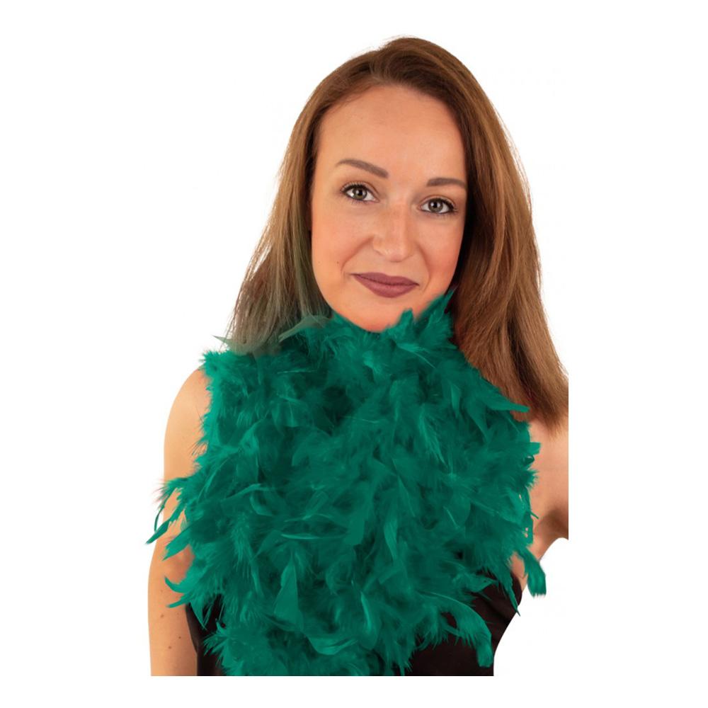 Fjäderboa Smaragdgrön